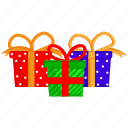 birthday, christmas, christmas present, gift, present icon