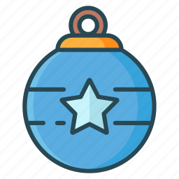 bell, christmas, decoration, lamp, ornament icon