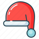 christmas, hat, party, santa, santa claus icon