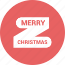 celebration, christmas, christmas ribbon, decora icon