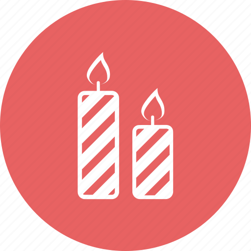 candle, candles, christmas, decoration icon