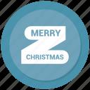 celebration, christmas, christmas ribbon, decoration icon