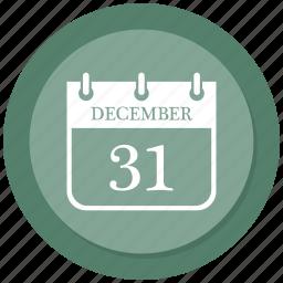 calendar, christmas, day, december icon