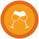 casino, drink, wine, wineglass icon