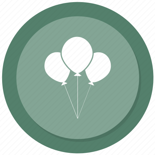 balloon, celebration, party icon