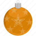 ball, bauble, christmas, ornament icon