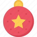 ball, christmas, gift, winter, xmas icon