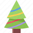christmas, fir, plant, tree icon