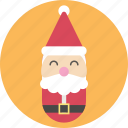 celebration, christmas, decoration, santa icon