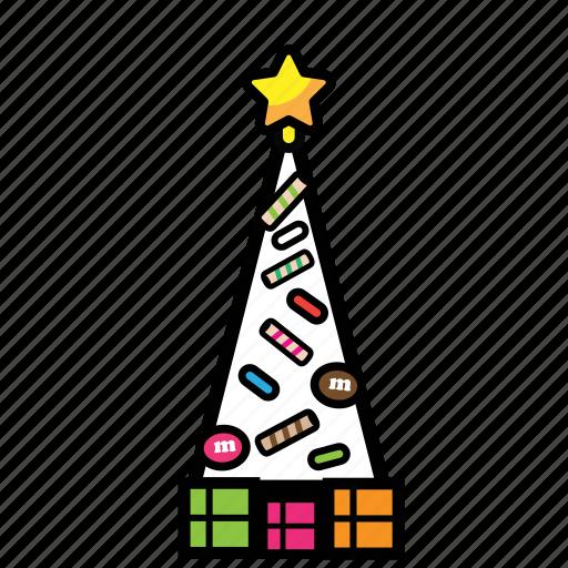 christmash, decoration, holiday, tree, year icon