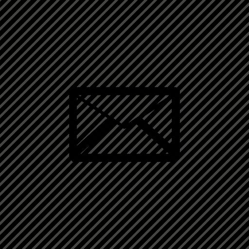 envelope, letter, mail, send icon