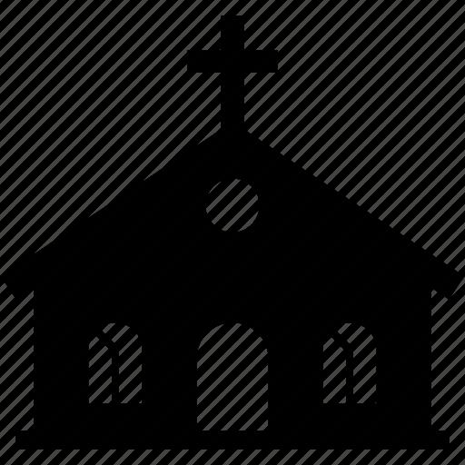 building, christian, church, cross, crucify, god, religion icon
