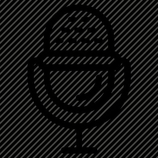condenser microphone, input device, media mic, mic, microphone, output device, reporter mic icon