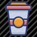 beverage, cola, cold drink, drinks, liquor, soft drink, takeaway drink icon