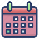 almanac, calendar, daybook, schedule, yearbook icon