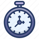chronometer, clock, stopwatch, timepiece, timer icon