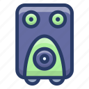 audio speaker, sound speaker, sound system, speaker, volume speaker icon