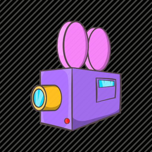 amcorder, cartoon, illustration, media, movie, sign, technology icon