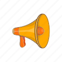 audio, cartoon, communication, mouthpiece, sign, speaker, voice icon
