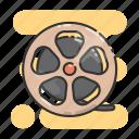 film, roll, cinema, movie