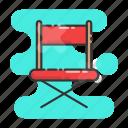 seat, director, cinema, chair