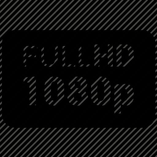 1080, 1080p, full hd icon icon