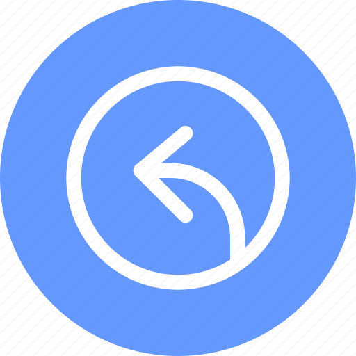 Arrow, direction, left, rounding, side icon - Download on Iconfinder