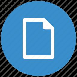 document, file, files, folder, open, paper icon