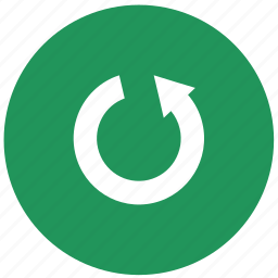 multimedia, player, refresh, rewind, rotate icon