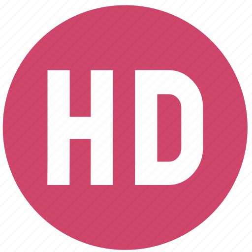 hd, media, multimedia, player, video, video quality icon