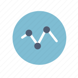 chart, circle, diagram, graph icon