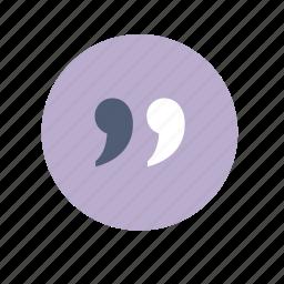 comment, forum, quote, talk icon