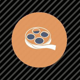 film, movie, reel icon