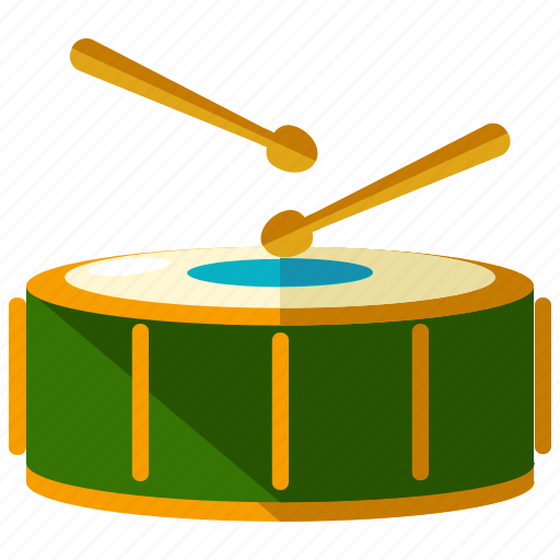 carnival, circus, drums, festival, instrument, music icon