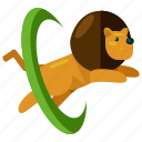 animal, carnival, circus, festival, king, lion icon