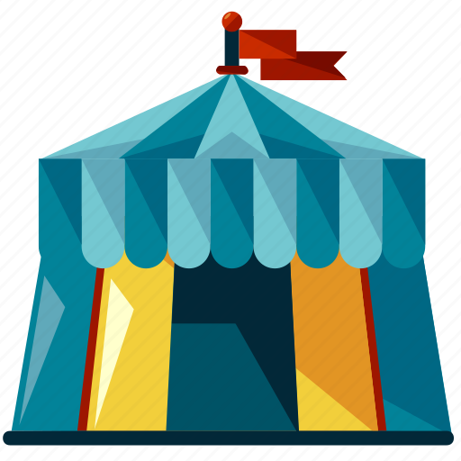 Camp, camping, circus, festival, tent icon | Icon search ...