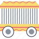 wagon, railroad, cage, railway, transport