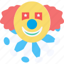 joker avatar, clown, jester, joker face, jester face