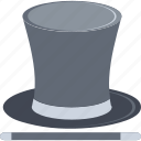 magic, magic wand, magician, magician hat, wand icon