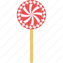 candy stick, confectionery, lollipop, lolly, sweet snack icon