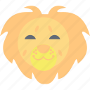 lion, panthera leo., safari animal, wild animal, zoo icon