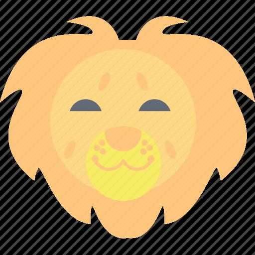 lion, panthera leo., safari animal, wild animal, zoo icon