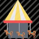 amusement park, fair ride, fun activity, leisure activity, motion ride icon