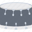 childrens drum, drum, hand drum, percussion, snare drum icon