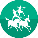 circus, fun park, game, horses show, show, theater, toy icon