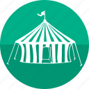 camping, chapiteau, circus, home, plane, tent, troupe icon