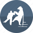 bear, bear dance, bear show, cinema, circus, cirque, dance icon
