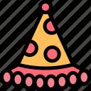 clown, hat icon