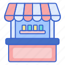 booth, carnival, market, shop, stand icon