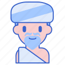 beard, fakir, man, mystic, turban